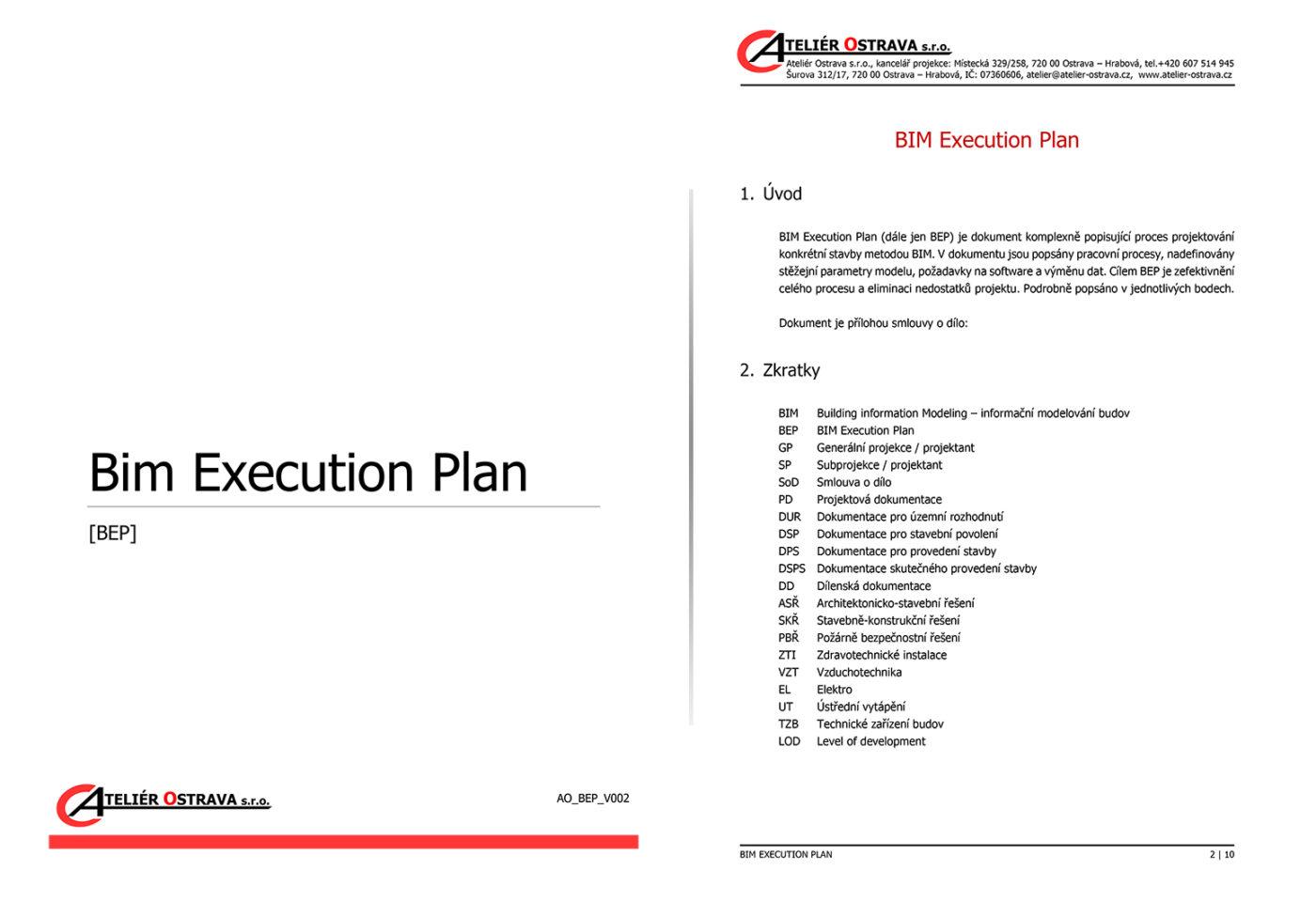 Bim Execution Plan ( BEP )