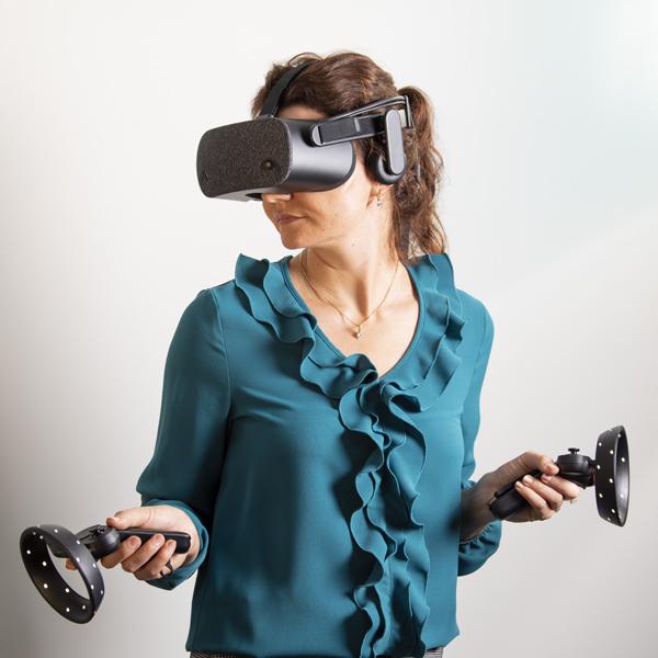Virtuální realita v kanceláři Ateliér Ostrava s.r.o.