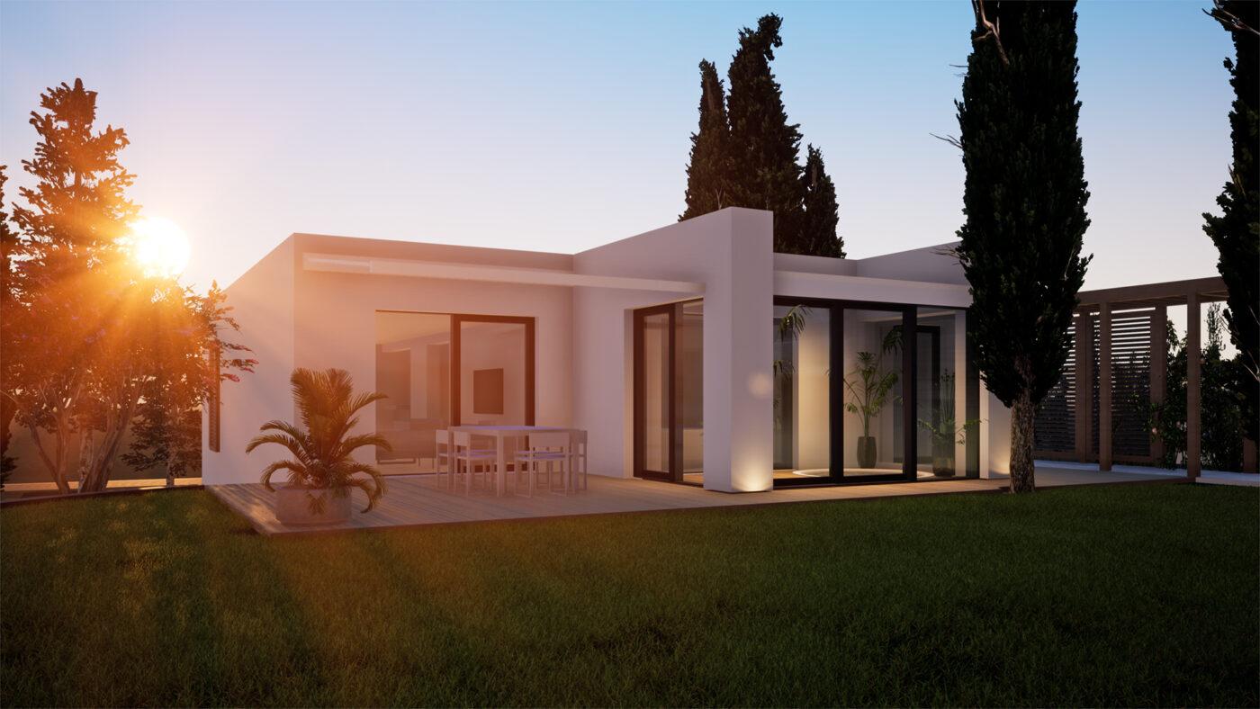 Vizualizace projektu přestavby rodinného domu
