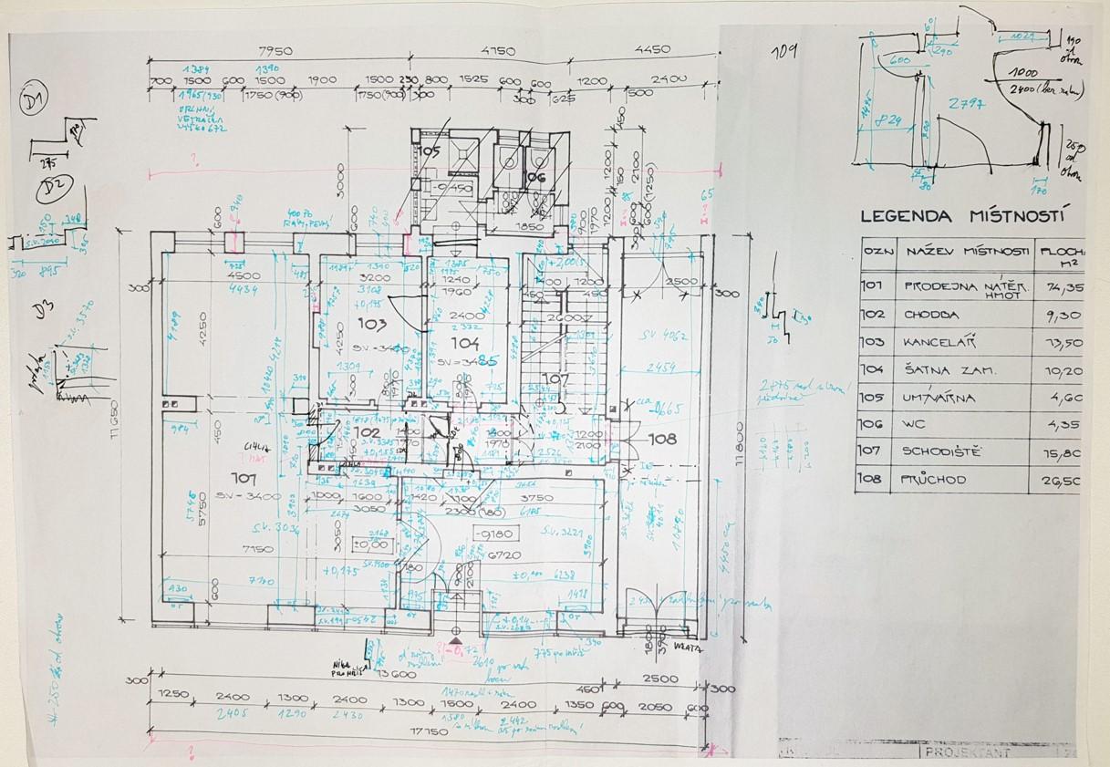 Zaměření stavby